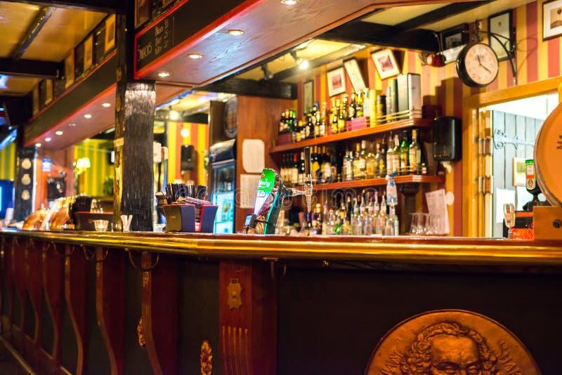 αγγλικό μπαρ παραδοσια&kappa στοκ εικόνες