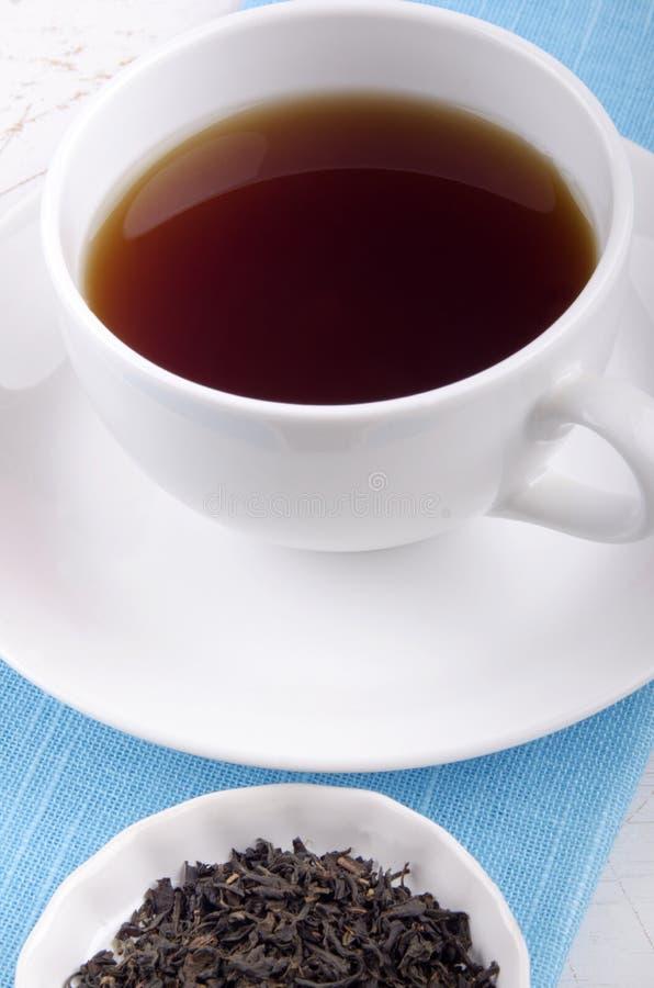 Αγγλικό τσάι προγευμάτων σε ένα φλυτζάνι στοκ φωτογραφίες με δικαίωμα ελεύθερης χρήσης