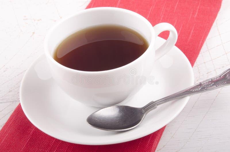 Αγγλικό τσάι προγευμάτων σε ένα φλυτζάνι στοκ εικόνα με δικαίωμα ελεύθερης χρήσης