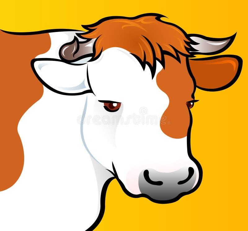 αγελάδα το επικεφαλής s απεικόνιση αποθεμάτων