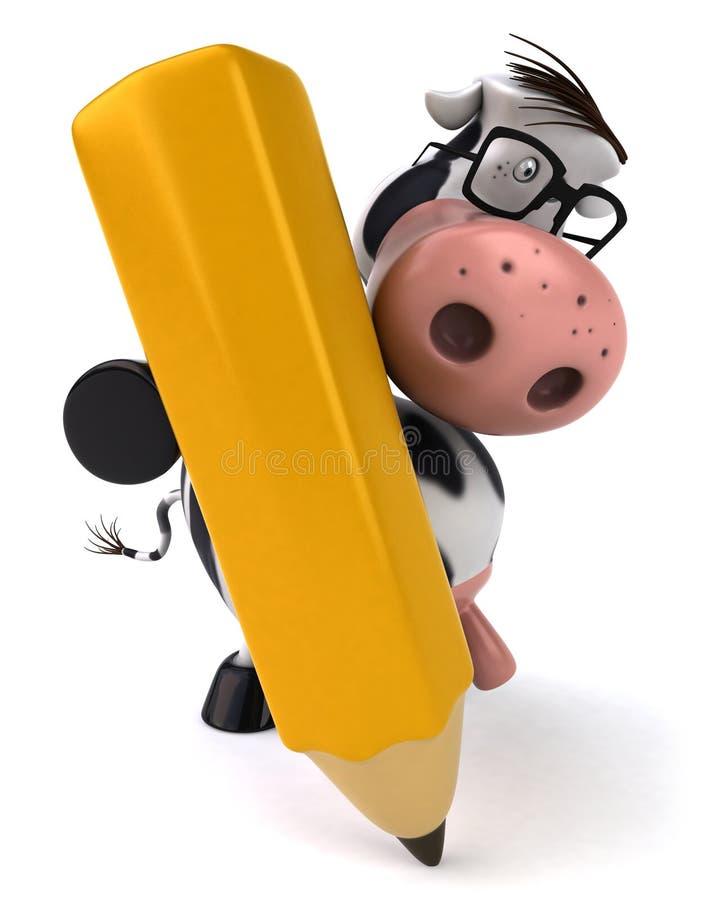 αγελάδα χαριτωμένη απεικόνιση αποθεμάτων
