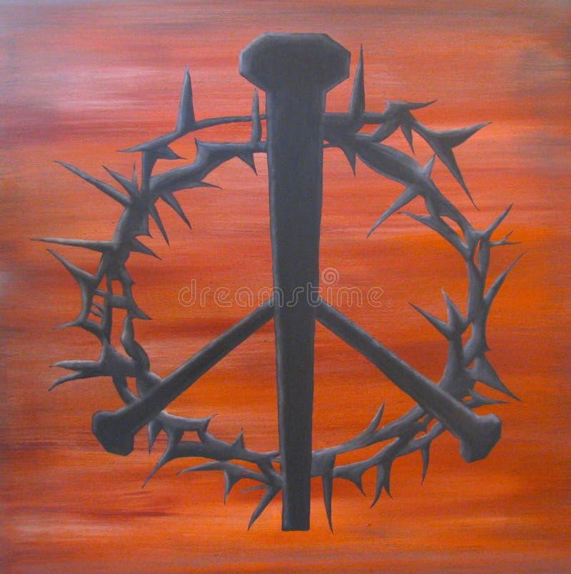 αγκάθια ειρήνης στοκ φωτογραφία με δικαίωμα ελεύθερης χρήσης