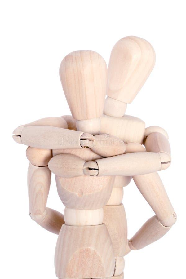 αγκαλιάζοντας τα μανεκέ&n στοκ φωτογραφία με δικαίωμα ελεύθερης χρήσης
