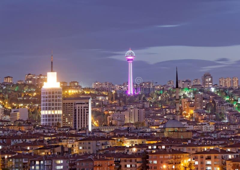 ΑΓΚΥΡΑ, ΤΟΥΡΚΙΑ - ΑΤΑ πύργος στοκ εικόνες με δικαίωμα ελεύθερης χρήσης