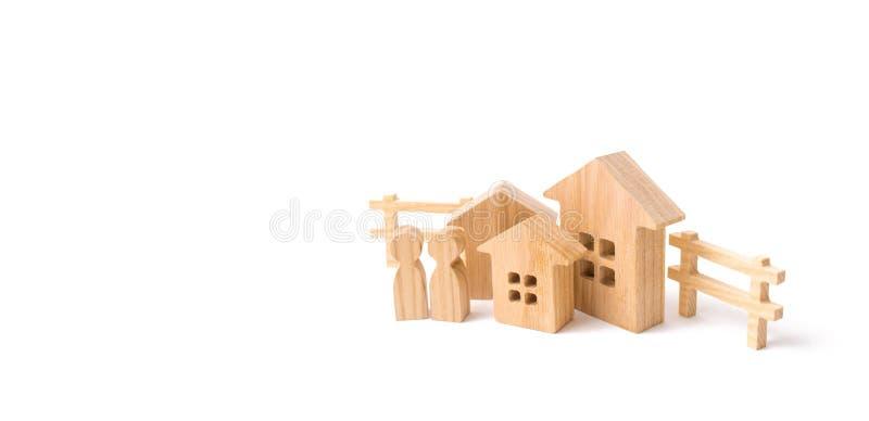 Αγοράζοντας ένα σπίτι ή ένα διαμέρισμα, που αγοράζει ένα αυτοκίνητο Μεσαία τάξη Φόρος πολυτέλειας Φόρος περιουσίας Σπίτια και αυτ στοκ εικόνες