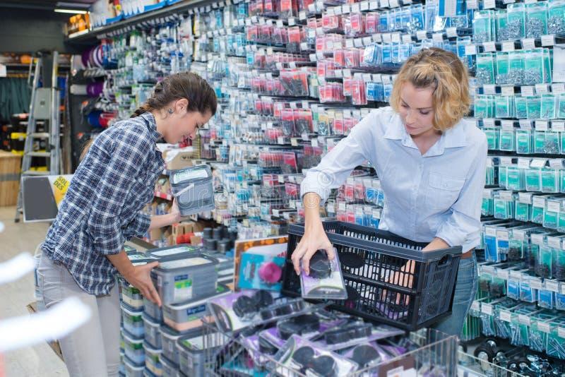 Αγοράζοντας μελανιού Τύπος εκτύπωσης κασετών ψηφιακός στοκ εικόνα