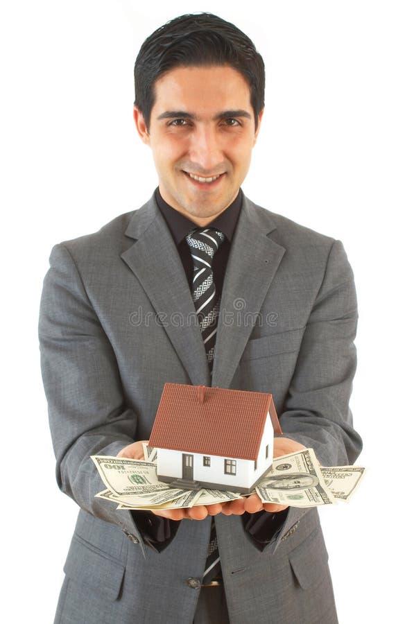 Download αγοράζοντας σπίτι στοκ εικόνα. εικόνα από ανάδοχοι, πληρώστε - 2231395