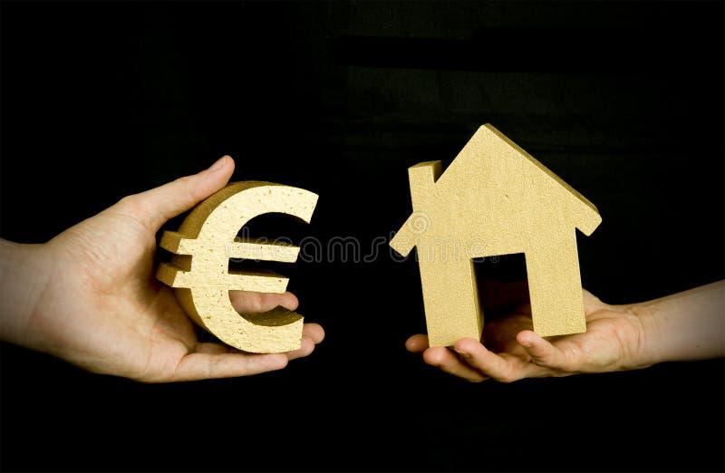 αγοράζοντας σπίτι στοκ φωτογραφίες με δικαίωμα ελεύθερης χρήσης