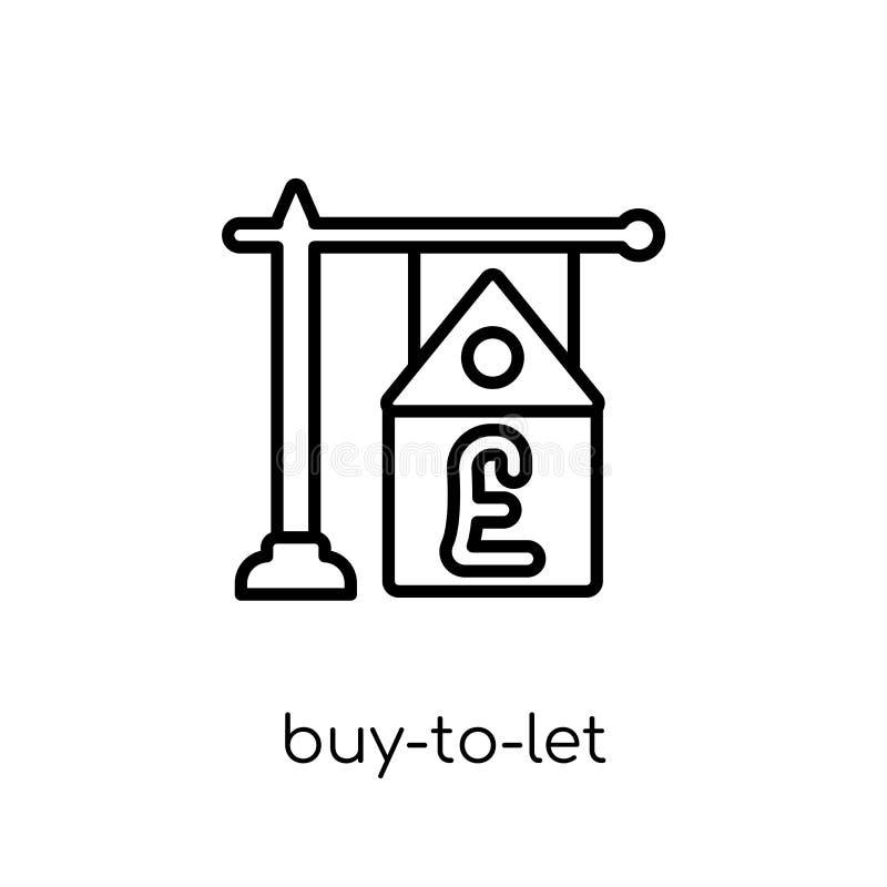Αγοράζω--αφημένο εικονίδιο υποθηκών  απεικόνιση αποθεμάτων