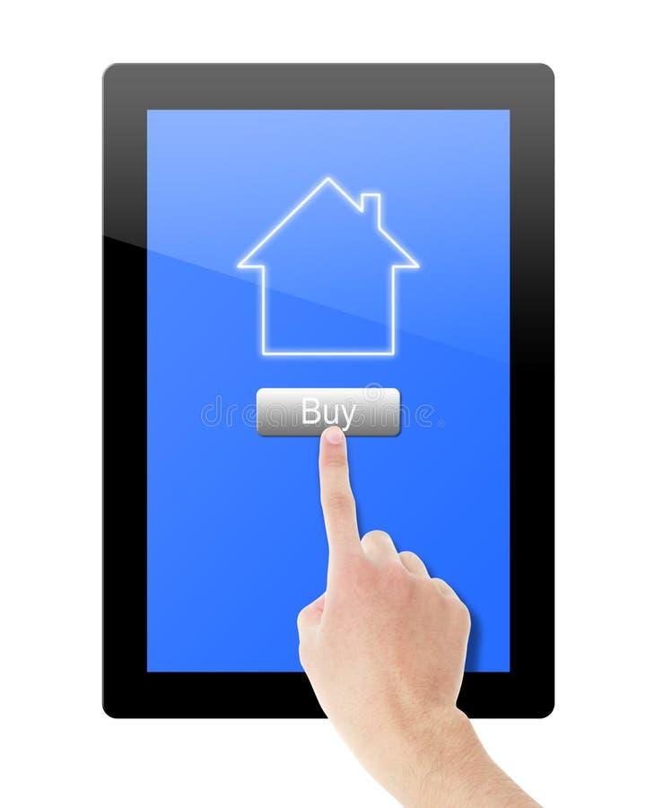 Αγοράστε το σπίτι στοκ εικόνες με δικαίωμα ελεύθερης χρήσης