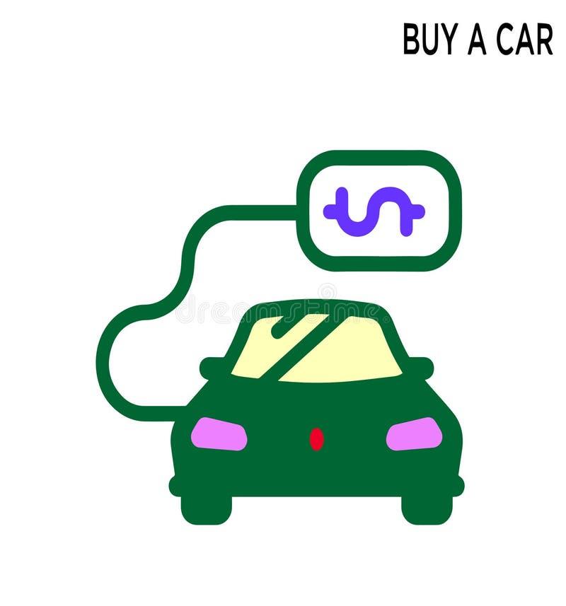 Αγοράστε το editable σχέδιο συμβόλων εικονιδίων αυτοκινήτων απεικόνιση αποθεμάτων