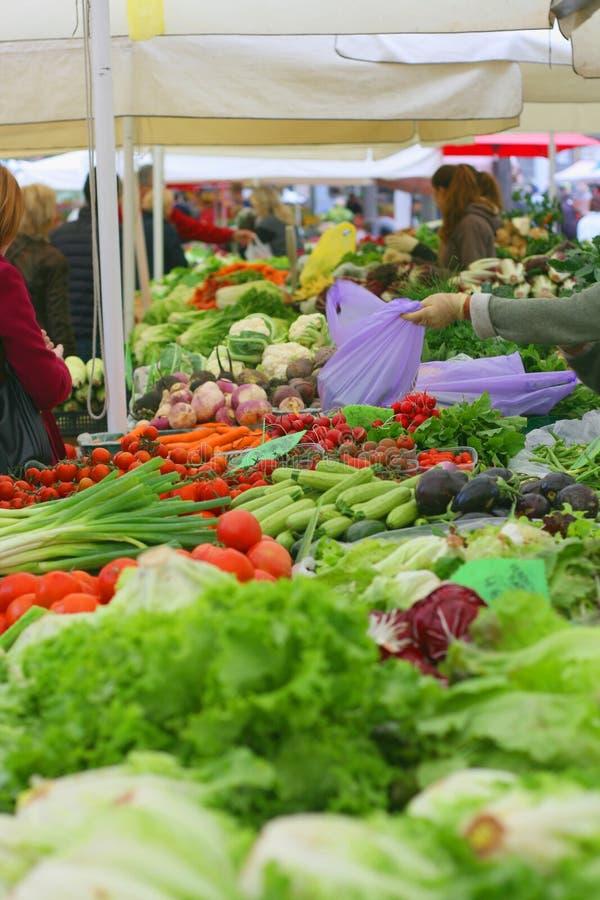 Αγορά αγροτών στοκ εικόνα με δικαίωμα ελεύθερης χρήσης