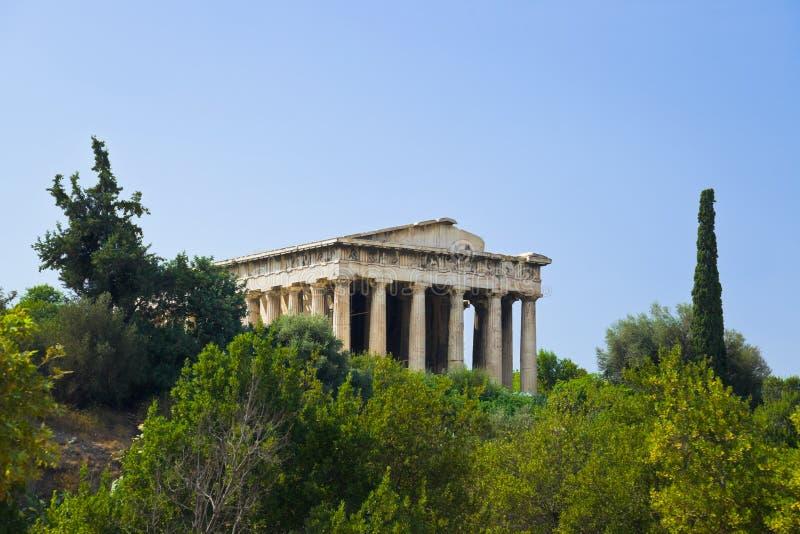 αγορά αρχαία Αθήνα Ελλάδα στοκ φωτογραφία με δικαίωμα ελεύθερης χρήσης