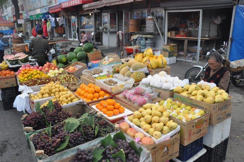 Αγορά καρπού στοκ φωτογραφίες με δικαίωμα ελεύθερης χρήσης