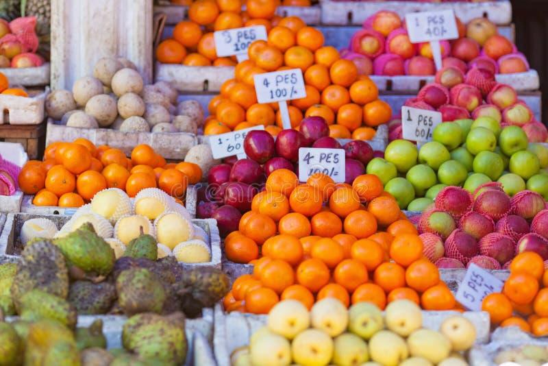 Αγορά καρπού στοκ φωτογραφία