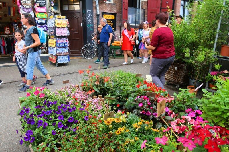 Αγορά λουλουδιών, Άμστερνταμ στοκ εικόνες με δικαίωμα ελεύθερης χρήσης