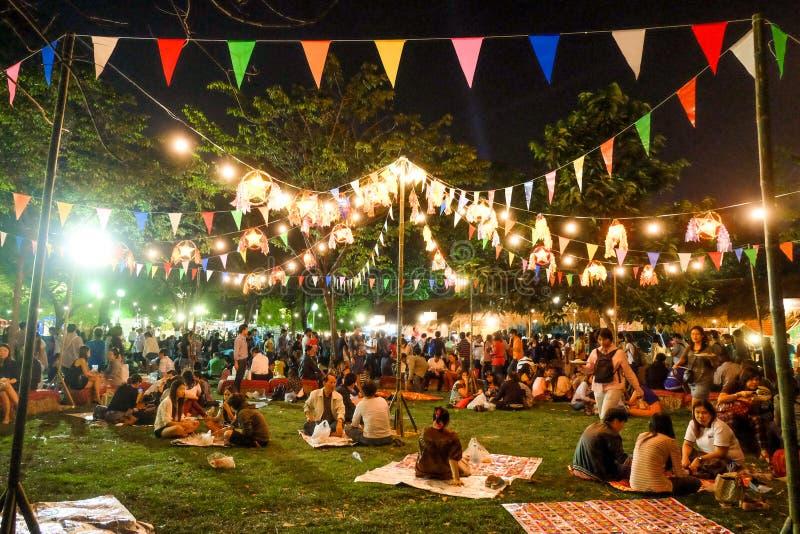 Αγορά νύχτας στοκ εικόνες με δικαίωμα ελεύθερης χρήσης