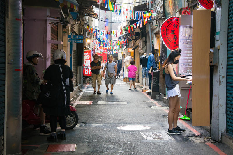 Αγορά νύχτας Shilin στοκ φωτογραφίες