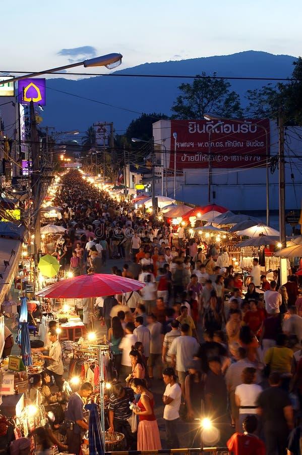 Αγορά οδών περπατήματος στοκ εικόνα
