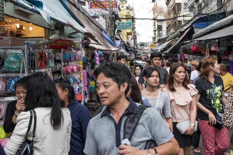 Αγορά οδών στοκ φωτογραφία