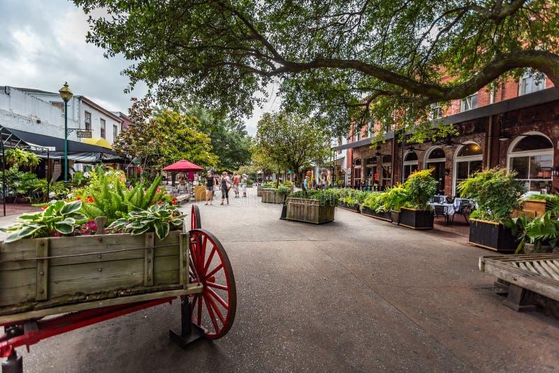 Αγορά πόλεων σαβανών στοκ φωτογραφίες με δικαίωμα ελεύθερης χρήσης
