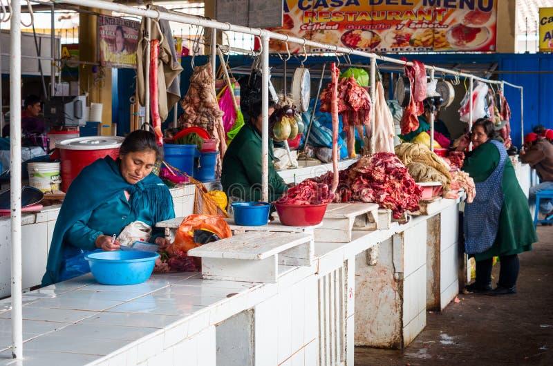 Αγορά σε Cusco, Περού στοκ εικόνα με δικαίωμα ελεύθερης χρήσης