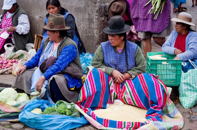 Αγορά σε Cusco, Περού στοκ εικόνες