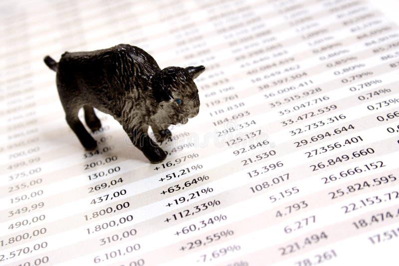 αγορά ταύρων στοκ εικόνες