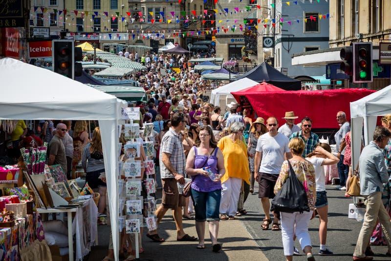 Αγορά της Κυριακής σε Frome στοκ εικόνα με δικαίωμα ελεύθερης χρήσης
