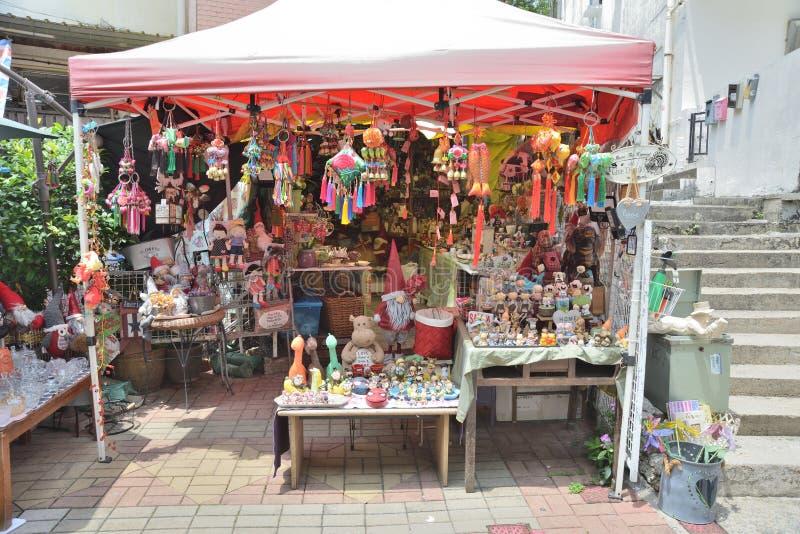 αγορά του Χογκ Κογκ στοκ εικόνες