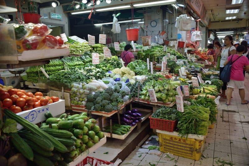 Αγορά τροφίμων Χονγκ Κονγκ στοκ φωτογραφίες
