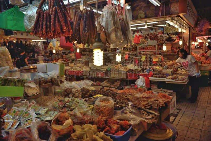 Αγορά τροφίμων Χονγκ Κονγκ στοκ εικόνες με δικαίωμα ελεύθερης χρήσης