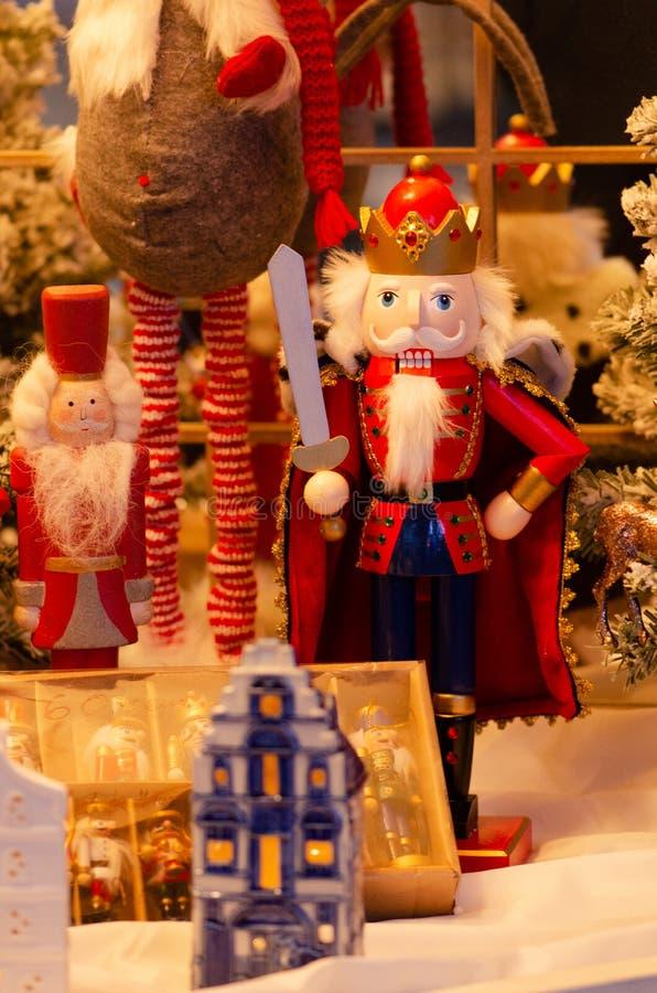 Αγορά Χριστουγέννων, καρυοθραύστης στοκ φωτογραφίες