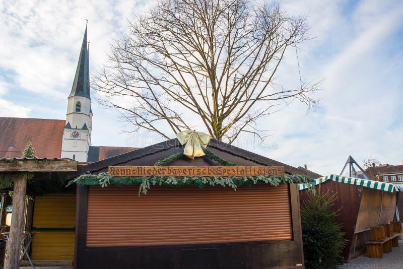 Αγορά Χριστουγέννων Christkindlmarkt στοκ φωτογραφία