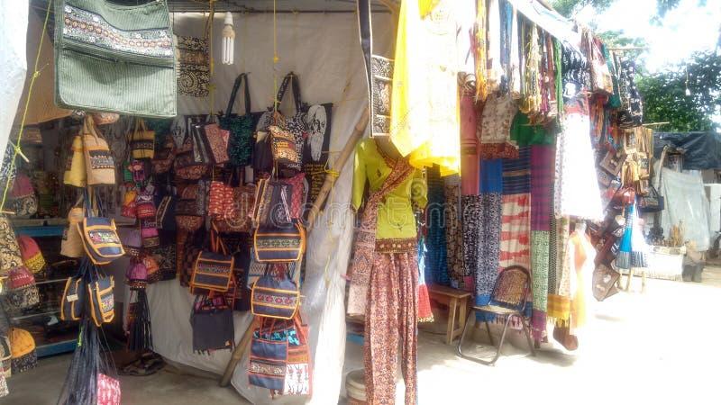 Αγορά Bage στοκ φωτογραφία