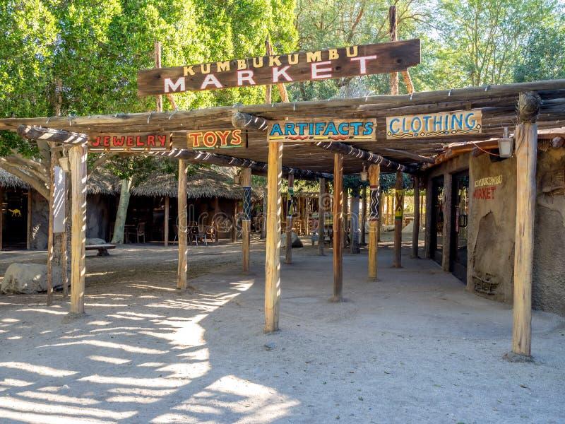 Αγορά Kumbukumbu, ζωολογικός κήπος ερήμων διαβίωσης και βοτανικός κήπος στοκ φωτογραφίες με δικαίωμα ελεύθερης χρήσης