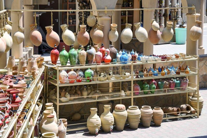 Αγορά Nizwa αγγειοπλαστικής στοκ φωτογραφίες με δικαίωμα ελεύθερης χρήσης