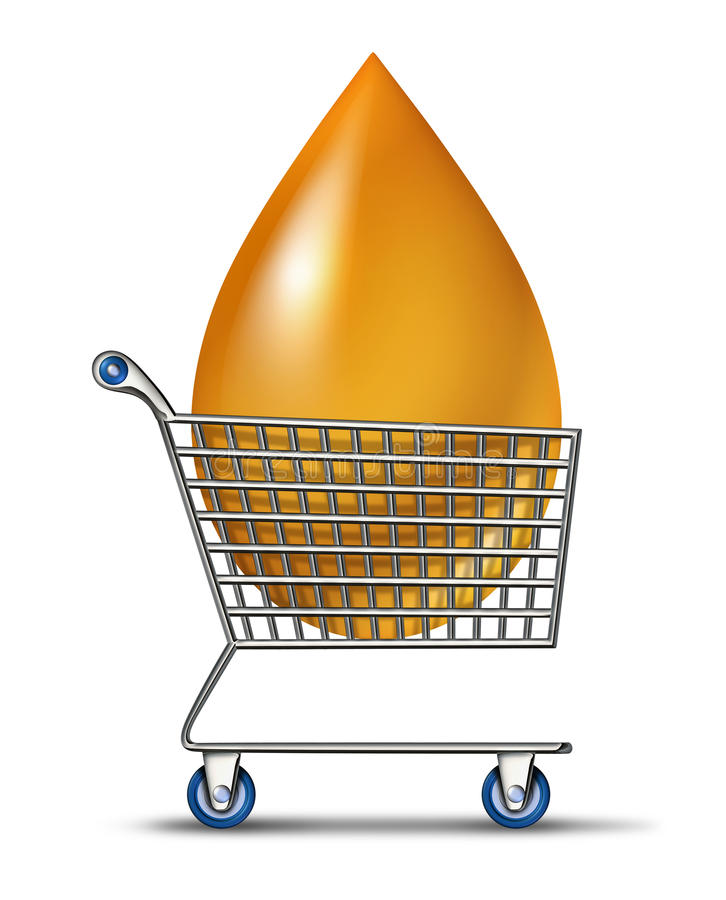 Αγορές για τα καύσιμα απεικόνιση αποθεμάτων