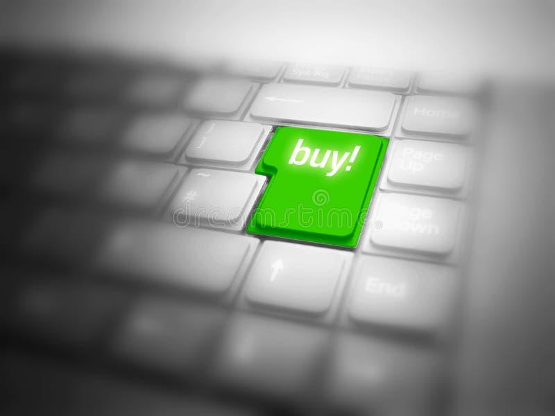 αγορές Διαδικτύου στοκ εικόνα
