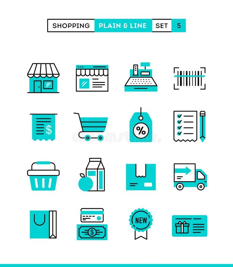 Αγορές, λιανικός, παράδοση, κάρτα δώρων, έκπτωση και περισσότερο σαφής απεικόνιση αποθεμάτων