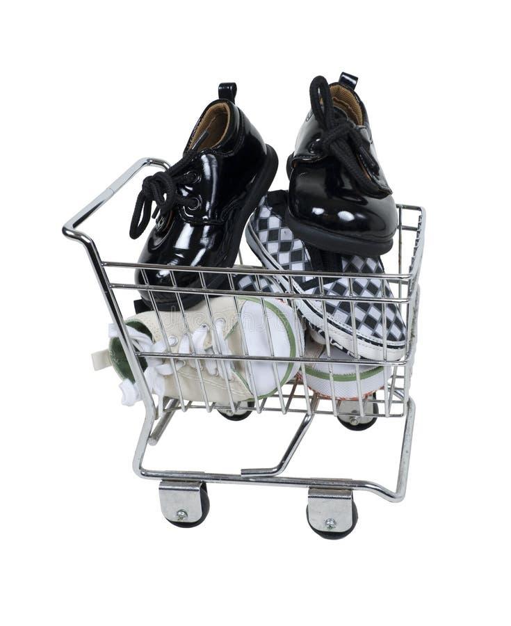 αγορές παπουτσιών στοκ φωτογραφίες με δικαίωμα ελεύθερης χρήσης
