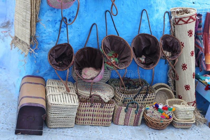 Αγορές σε Chefchaouen στοκ φωτογραφία με δικαίωμα ελεύθερης χρήσης