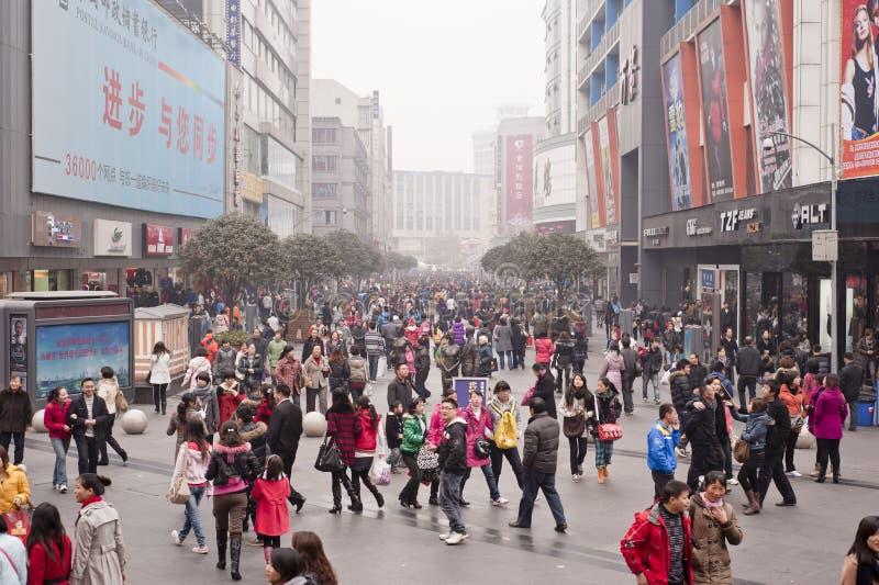 αγορές της Κίνας στοκ φωτογραφία με δικαίωμα ελεύθερης χρήσης