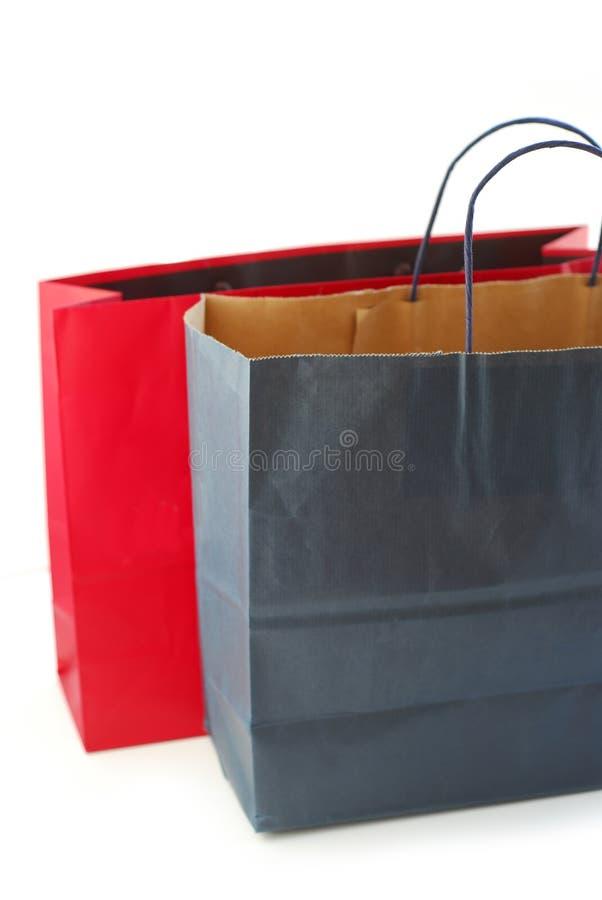 αγορές τσαντών στοκ εικόνες