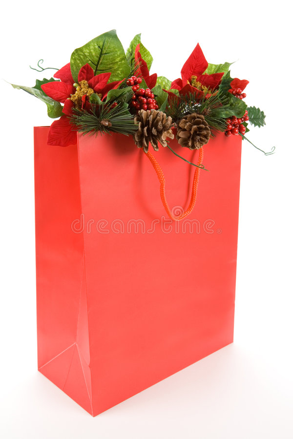αγορές Χριστουγέννων τσ&alpha στοκ εικόνες με δικαίωμα ελεύθερης χρήσης