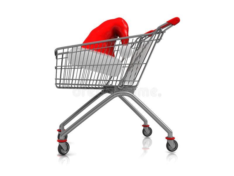 αγορές Χριστουγέννων ελεύθερη απεικόνιση δικαιώματος