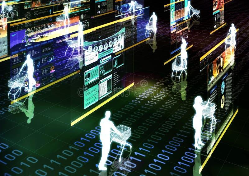 αγορές 02 Διαδίκτυο απεικόνιση αποθεμάτων