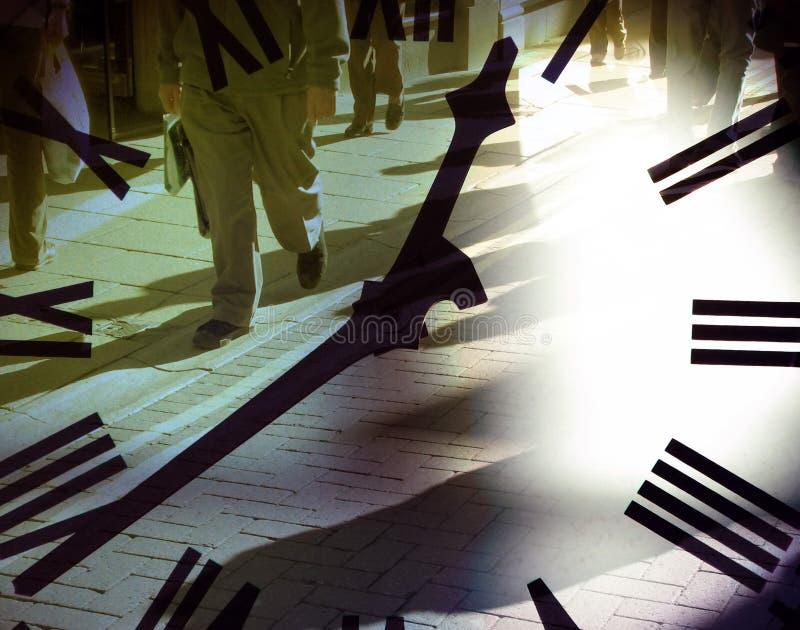 Download αγοραστές ώρας μεσημερι&a στοκ εικόνες. εικόνα από επιχείρηση - 1539730
