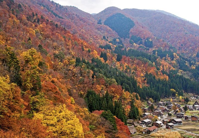 Αγροικία στο shirakawago στοκ φωτογραφία