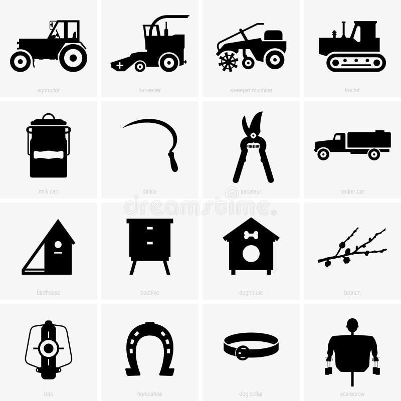 Αγροτικά αντικείμενα ελεύθερη απεικόνιση δικαιώματος